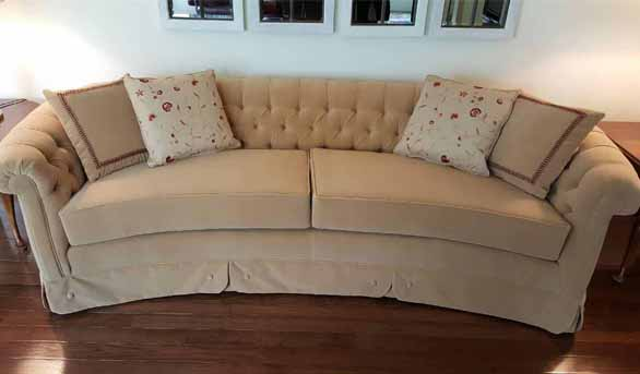Couch After Re-Upholstery
